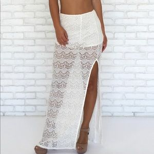 Dainty Hooligan Lace Skirt